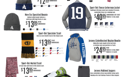 spirit apparel, custom spirit wear, direct promotions