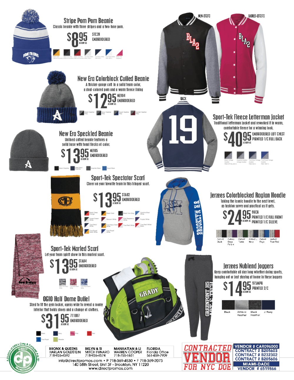custom sports wear, sports apparel, spirit apparel, custom spirit wear, direct promotions