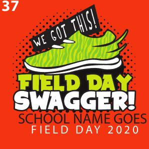 Field Day T shirt design template 37