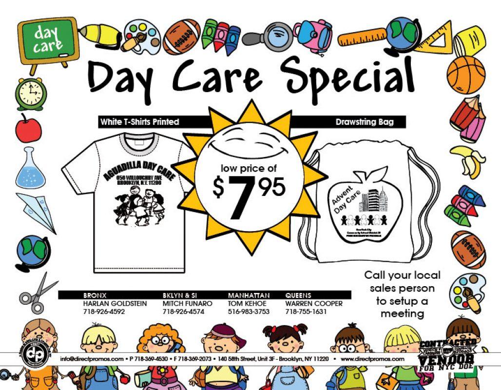 Daycare Uniform PreK Kindergarden contract