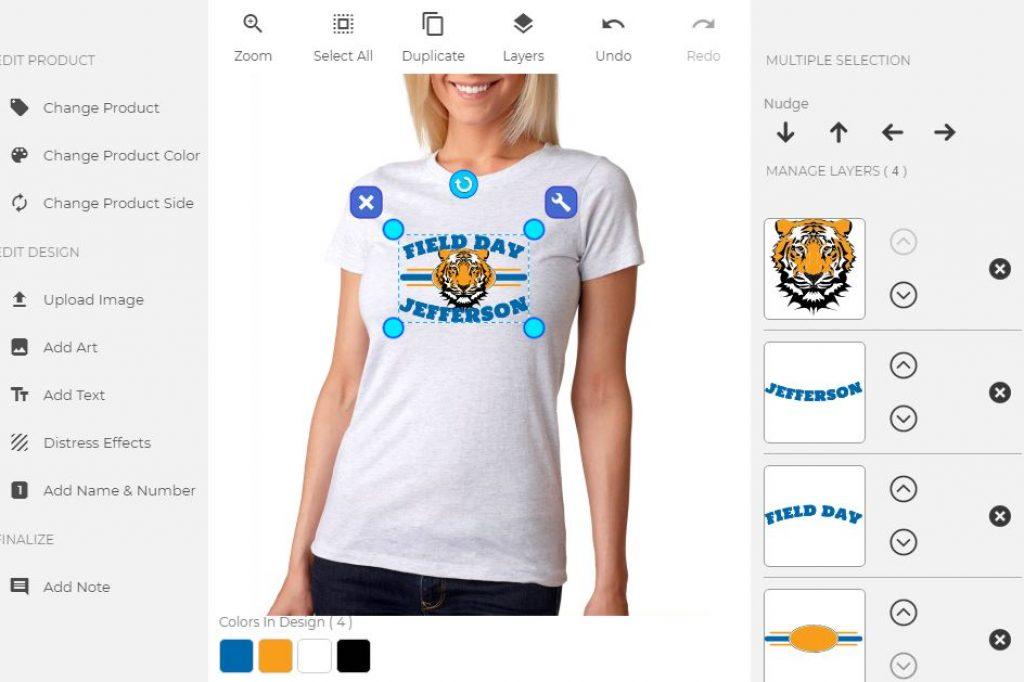 564254fcc7d3 Apparel Designer. Custom your t-shirt ...